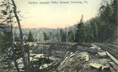 Deerfield Valley Railroad - Searsburg, Vermont VT Postcard
