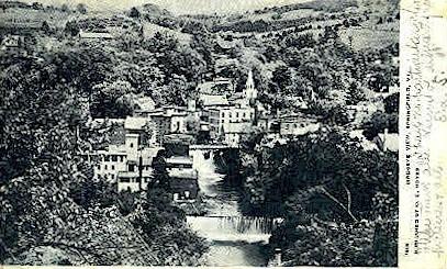 Springfield - Vermont VT Postcard