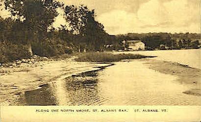 North Shore - St Albans, Vermont VT Postcard