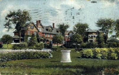 Shelburne Farms - Burlington, Vermont VT Postcard