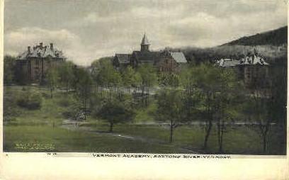 Vermont Academy - Saxtons River Postcard
