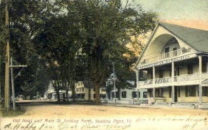 Main Street - Saxtons River, Vermont VT Postcard