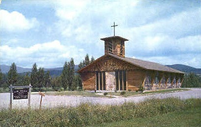 Blessed Sacrament Church - Stowe, Vermont VT Postcard