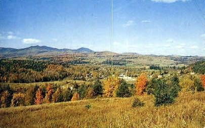 Mount Mansfield - Stowe, Vermont VT Postcard