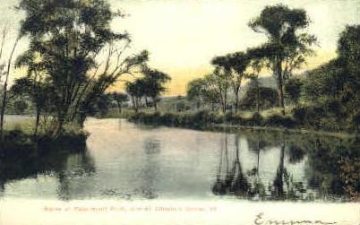 Passumpsic River - St Johnsbury, Vermont VT Postcard