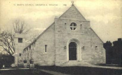 St. Mary's Catholic Church - Springfield, Vermont VT Postcard