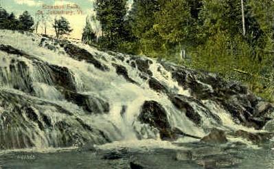Emerson's Falls - St Johnsbury, Vermont VT Postcard