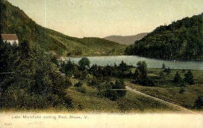 Lake Mansfield - Stowe, Vermont VT Postcard