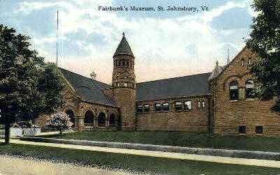 Fairbank's Museum - St Johnsbury, Vermont VT Postcard
