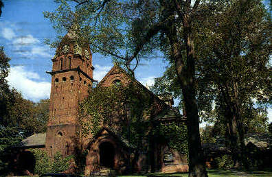 Congregational Church - St Albans, Vermont VT Postcard