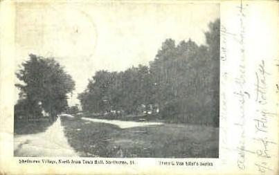 Shelburne Village - Vermont VT Postcard