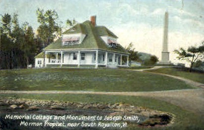 Memorial Cottage - South Royalton, Vermont VT Postcard