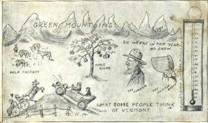 Misc - St Johnsbury, Vermont VT Postcard