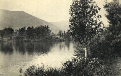 Lake Sharfsbury - Shaftsbury, Vermont VT Postcard
