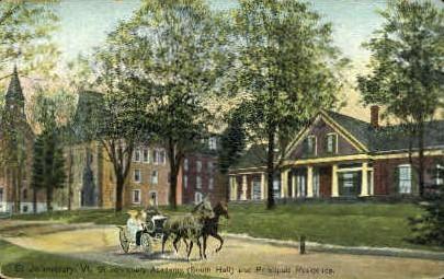 St. Johnsbury Academy - St Johnsbury, Vermont VT Postcard