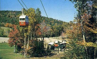 Mount Sunapee State park - Vermont VT Postcard