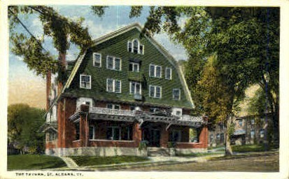 The Tavern - St Albans, Vermont VT Postcard