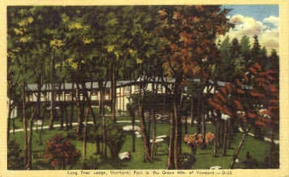 Long Trail Lodge - Shelburne, Vermont VT Postcard