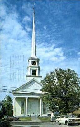 Stowe Community Church - Vermont VT Postcard