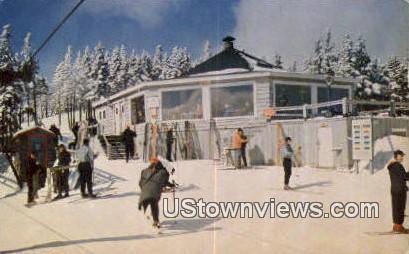 Mt Mansifeld Chair Lift - Stowe, Vermont VT Postcard