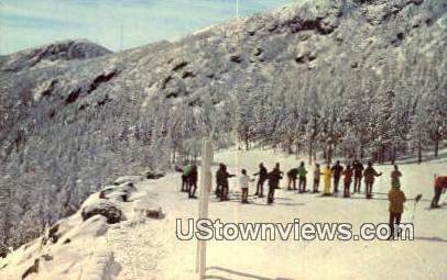 Ski School - Stowe, Vermont VT Postcard