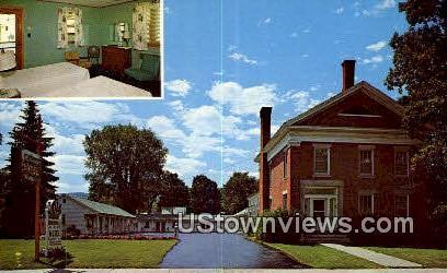 Gateway Motel - Stowe, Vermont VT Postcard