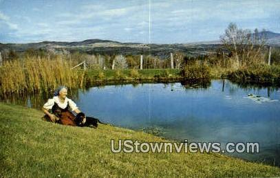 Maria Von Trapp - Stowe, Vermont VT Postcard
