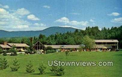 Alpine Motor Lodge - Stowe, Vermont VT Postcard