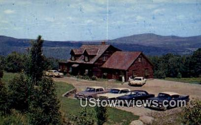 Trapp Family Book & Gift Shop - Stowe, Vermont VT Postcard