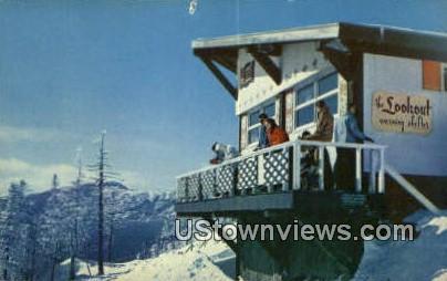 Lookout, Big Spruce - Stowe, Vermont VT Postcard