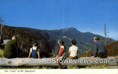The Chin, Mt Mansfield - Stowe, Vermont VT Postcard