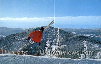 Stowe, VT     ;     Stowe, Vermont Postcard