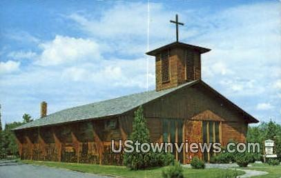 Blessed Sacrament RC Church - Stowe, Vermont VT Postcard