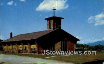 Blessed Sacrament Church - Stowe, Vermont VT Postcard