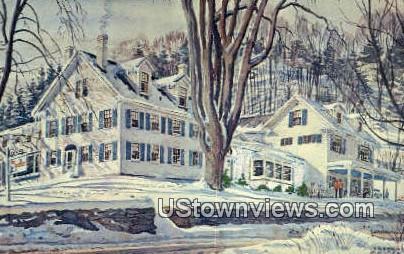 The Yodler - Stowe, Vermont VT Postcard