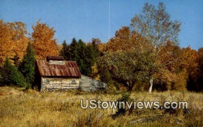 Old Sugar House - Stowe, Vermont VT Postcard