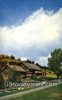 Home of the Trapp Family - Stowe, Vermont VT Postcard