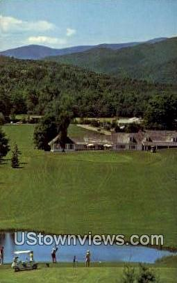 Stowe Country Club - Vermont VT Postcard