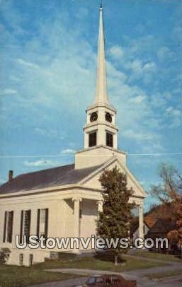 Stowe Community Church - Vermont VT Postcard