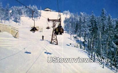 Double Chair Life, Sprice Peak - Stowe, Vermont VT Postcard