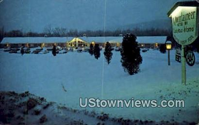 Mountaineer Motor Inn - Stowe, Vermont VT Postcard