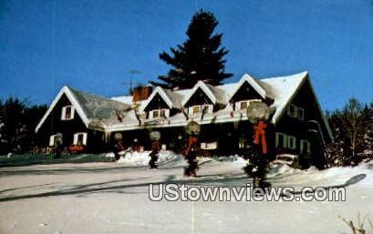 Scandinavia Inn & Chalets - Stowe, Vermont VT Postcard