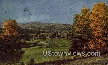 Stowe's Church - Vermont VT Postcard