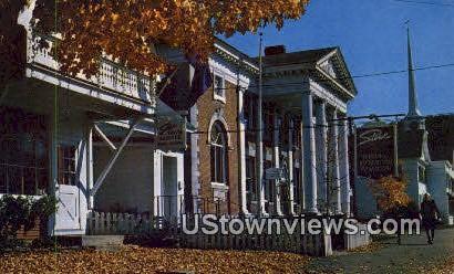 Main Street - Stowe, Vermont VT Postcard