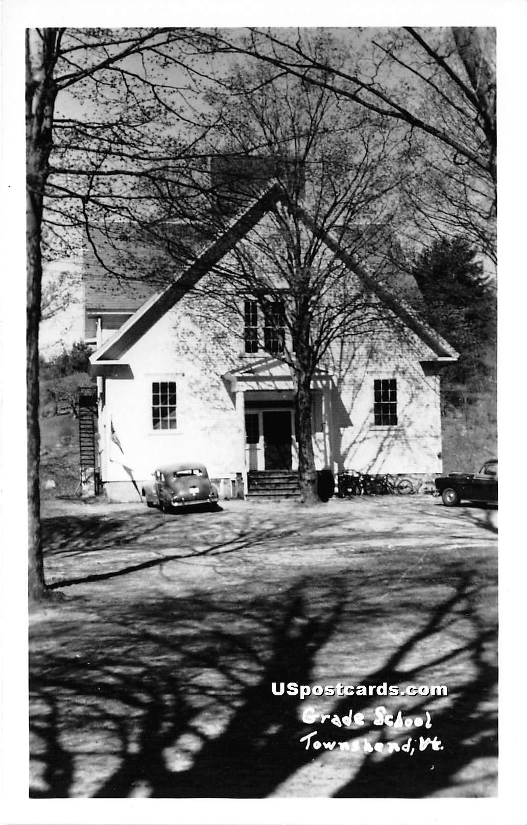 Grade School - Townshend, Vermont VT Postcard