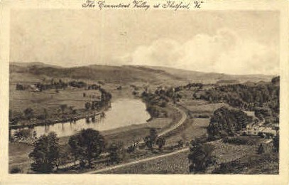Connecticut Valley - Thetford, Vermont VT Postcard