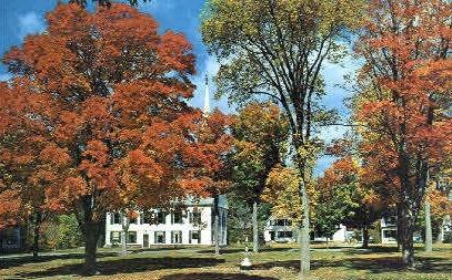 Church  - Townshend, Vermont VT Postcard