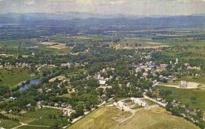 Third Oldest City - Vergennes, Vermont VT Postcard