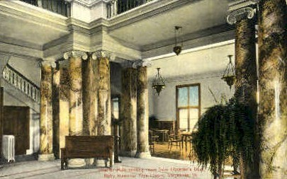 Bixby Memorial Free Library - Vergennes, Vermont VT Postcard