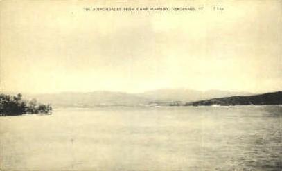 Camp Marbury - Vergennes, Vermont VT Postcard